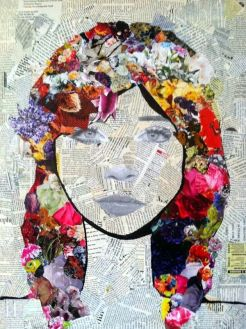 collage portrait