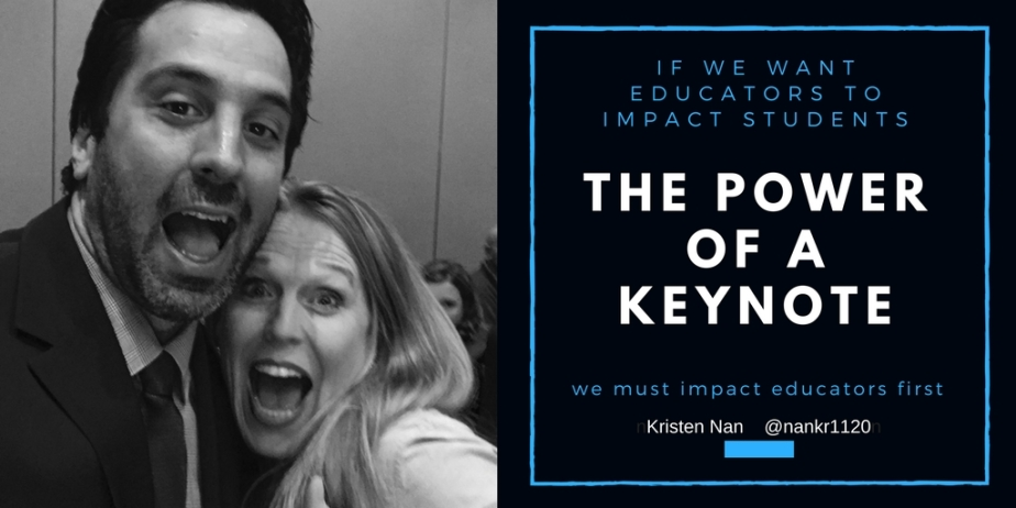 The Power of a Keynote: an investment in our future!