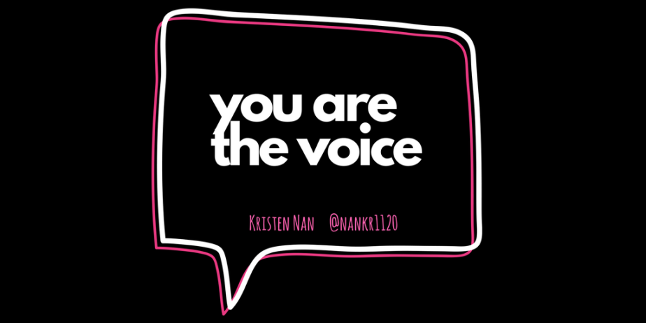 """Common"" phrase: You Are The Voice"