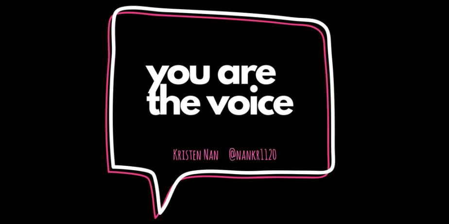 """Common"" phrase: You Are TheVoice"