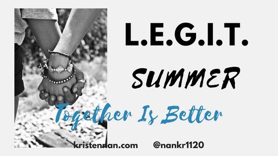 L.E.G.I.T. Summer- Together