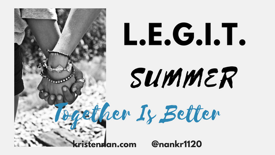 L.E.G.I.T. Summer- Together