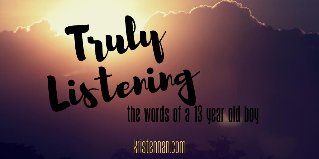 Truly Listening