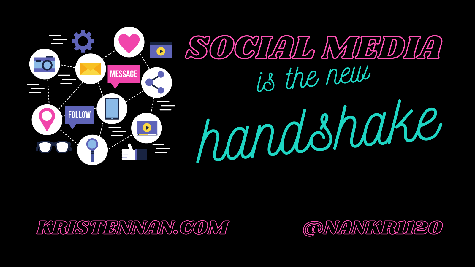 Social Media is the New Handshake